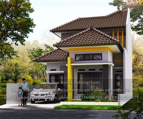 desain rumah  lantai  lahan   seputar dunia rumah