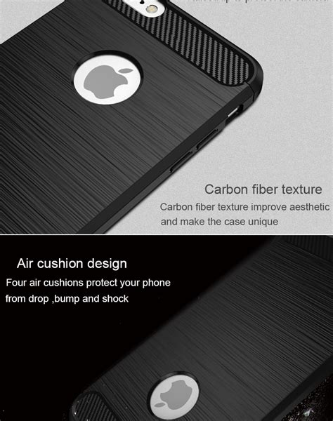 Bakeey Dissipating Heat Carbon Fiber Case For iPhone 6