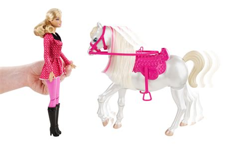Barbie And Her Sisters In A Pony Tale Train