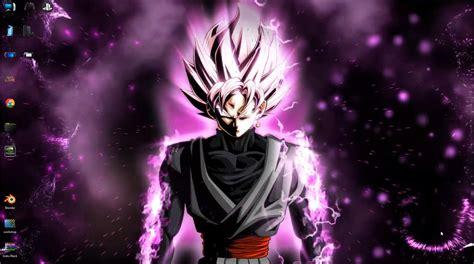 Animated Goku Wallpaper - goku black saiyan animated free