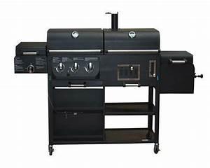 Gas Kohle Grill Kombination : gas holzkohle grill grillwagen holzkohlegrill bbq smoker ~ Watch28wear.com Haus und Dekorationen