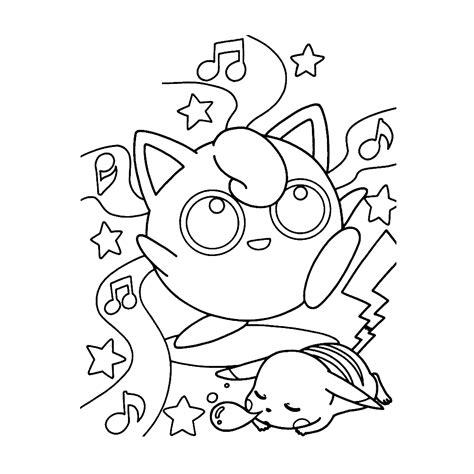 Jiggly Puff Kleurplaat by Leuk Voor Jigglypuff
