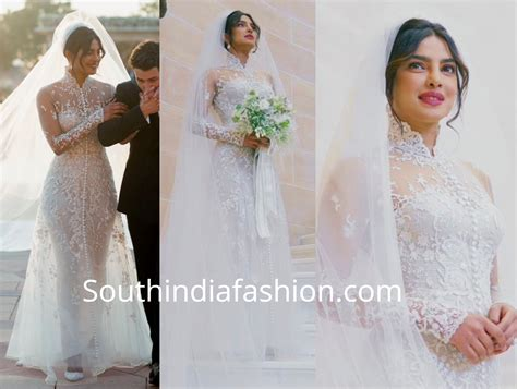 Priyanka Chopra Wedding Dress : Priyanka Chopra And Nick Jonas Wedding Photos