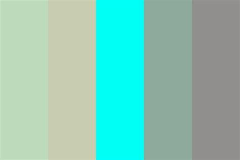 manas teal color palette