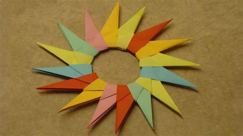 basteln papier basteln mit papier sterne falten deko ideen mit flora shop