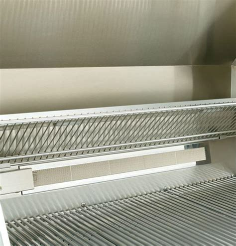 ge monogram zggnbpss   built  grill  stainless steel appliances connection