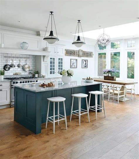 white island kitchen kitchen diners period living kitchens areas