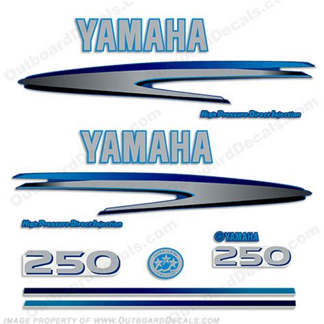 Custom Boat Engine Decals by Yamaha Decals