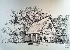Haus Von Schwarz Und Weiß : bild haus schwarz wei h uschen garten von mona bei kunstnet ~ A.2002-acura-tl-radio.info Haus und Dekorationen