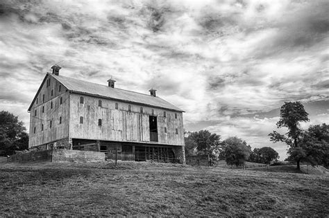 black and white barn black and white barn photograph by jack nevitt