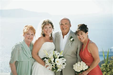 Destination Wedding On The Greek Island Of Santorini