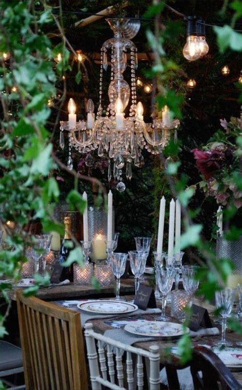 idees en  avec eclairage romantique