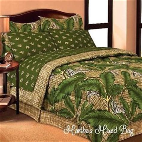 palm tree comforter sets tropical palm tree leaves foilage green king sizes