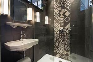 Carreaux De Ciment Salle De Bain : carreaux de ciment et salle de bains styles de bain ~ Melissatoandfro.com Idées de Décoration