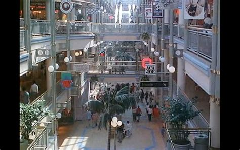 time lapse video    los angeles mall circa