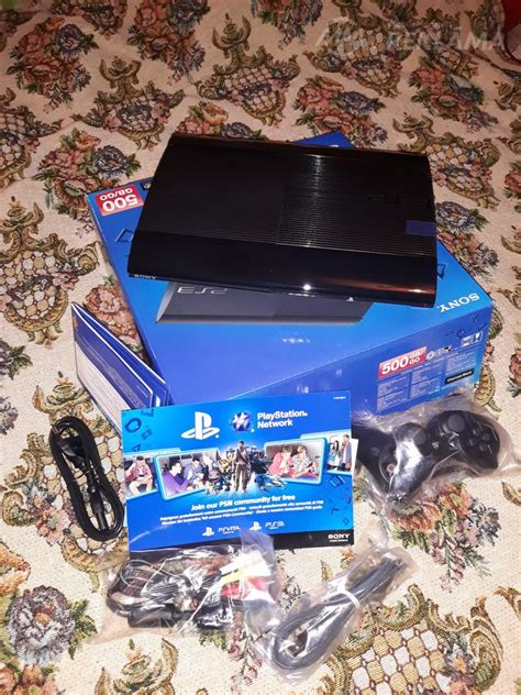 Spēļu konsole Sony PlayStation PS 3, Jauns. Rīga - MM.lv
