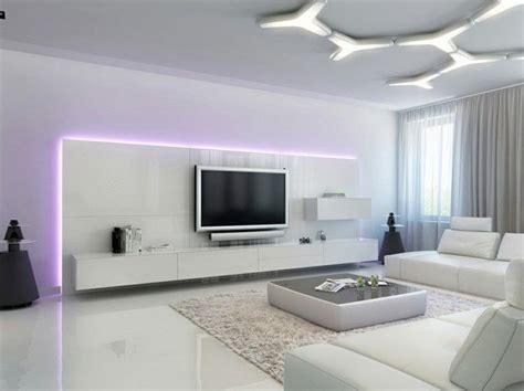 As lâmpadas led não utilizam elementos nocivos para o meio ambiente, como chumbo, mercúrio, cádmio, etc. Luz LED -100 interiores con diseño espectacular -   Deco salon blanc, Déco salon, Salon moderne