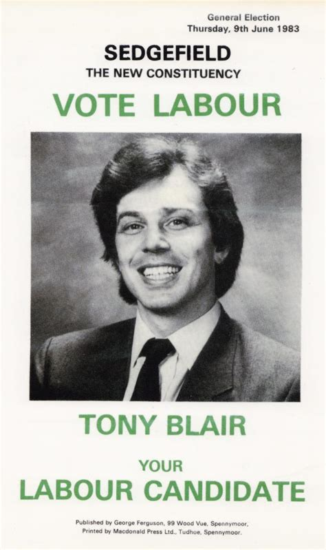 tony blair gallery flashbak