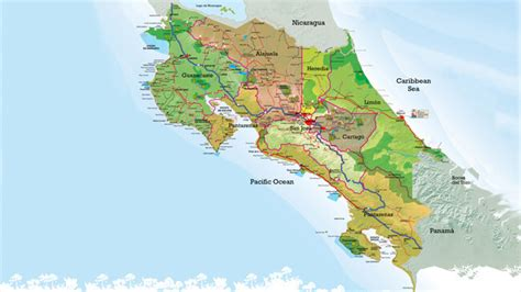 costa rica facts provinces  capital holidays