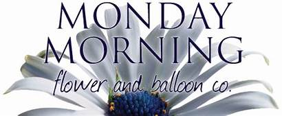 Morning Monday Flowers Balloon Flower Rose Delivery