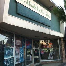 Redlands Guitar Shop Gitarrengeschäft 208 Orange St