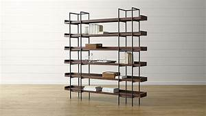 Beckett 6-High Shelf in Bookcases Crate and Barrel