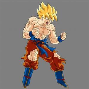 Goku Ssj V2 By Drozdoo On Deviantart