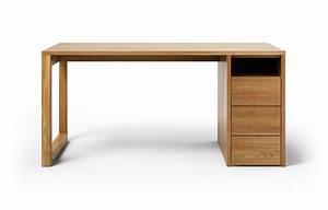 Schreibtisch Massivholz Eiche : cantus aus eiche rustikal schreibtisch ~ Whattoseeinmadrid.com Haus und Dekorationen
