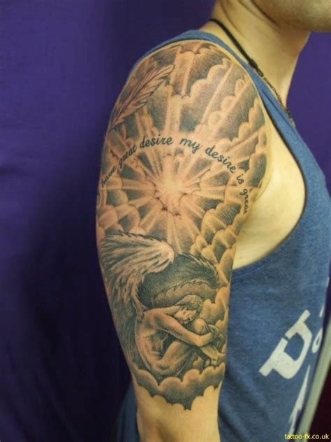 stylish  sleeve tattoos  men ideas