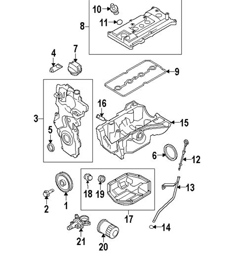 Nissan Cube Engine Diagram by Parts 174 Nissan Rubber Pcv Valv Partnumber 118126n200