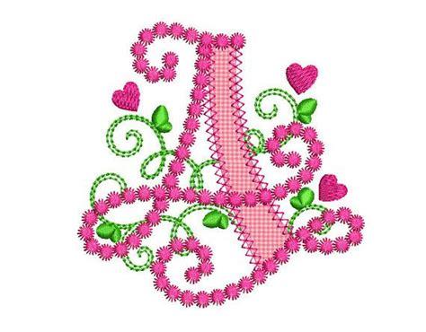 letter  applique machine embroidery design monogram initials etsy machine embroidery