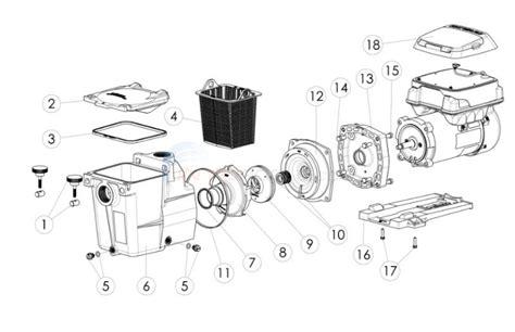 Hayward Super Pump Spvsp Parts