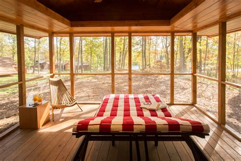 escape the cabin tiny house escape in canoe bay is a cabin rv