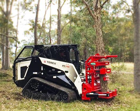tree shears  excavators skid steers fecon australia