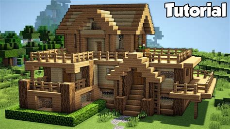 minecraft starter house tutorial   build  house  minecraft easy  home design