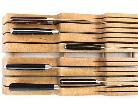 drawer knife block in drawer knife block by wusthof 187 gadget flow