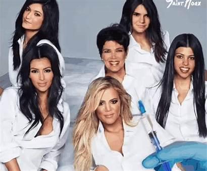 Plastic Kardashian Surgery Khloe Gifs Kardashians Saint