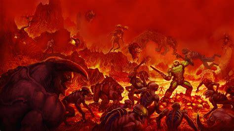 full hd wallpaper doom hell soldier fight desktop backgrounds hd p