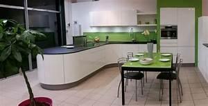 Plan De Travail Fin : cuisine avec un plan de travail fin tout en rondeur dans ~ Preciouscoupons.com Idées de Décoration