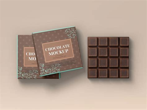 Here we present you a brand new chocolate bar packaging mockup psd file for your product branding project. Free Chocolate Bar Packaging Mockup | Mockuptree
