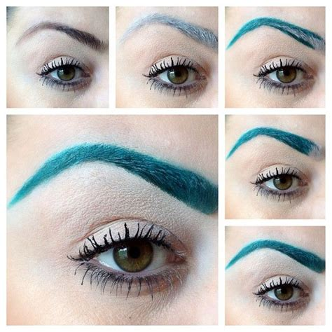 Coloring Eyebrows by Colored Eyebrows Florabac