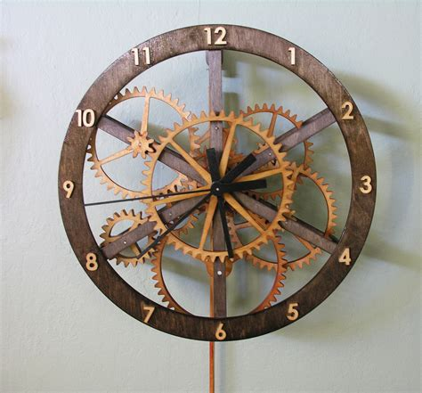 starchar clock plans  wooden clock