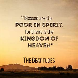 The Beatitudes - New Series - Big Valley Grace Community ...