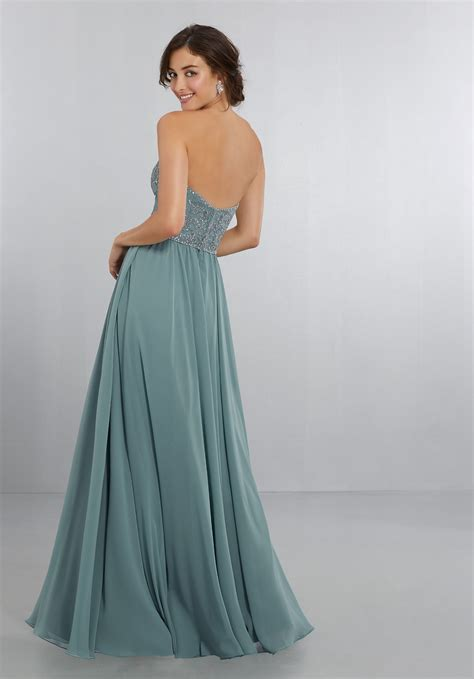 bridesmaid dresses by mori lee style 21568 chiffon dress