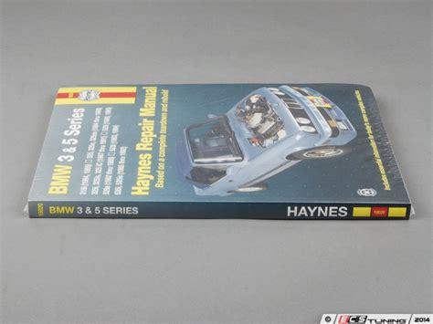 motor repair manual 2008 bmw 5 series electronic toll collection haynes 18020 haynes repair manual bmw e30 3 series e28 e34 5 series