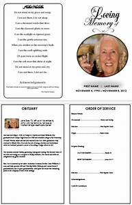 printable funeral program templates on pinterest funeral With funeral service cards template
