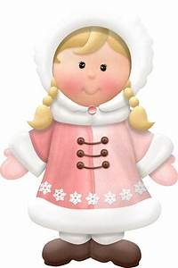 WINTER LITTLE GIRL CLIP ART | INFANTILES | Pinterest ...