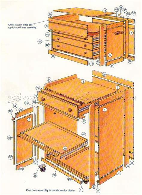 rolling tool cabinet rolling tool cabinet plans workshop solutions toolbox