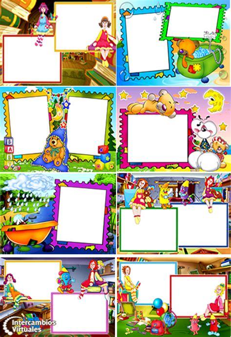 marcos infantiles  fotografias png intercambioseddy