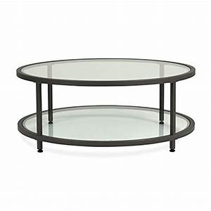 discount studio designs home 710030 camber round coffee With pewter glass coffee table